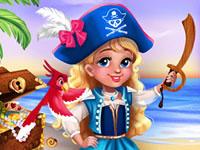 Jeu Petite princesse pirate