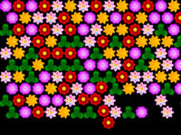 Jeu Flowers Bubble Shooter