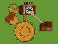 Jeu Steampunk Idle Spinner
