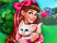 Jeu Victoria adopte un chaton