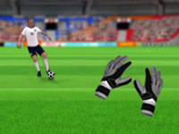 Jeu Goalkeeper Challenge