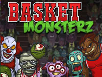 Jeu Basket Monsterz