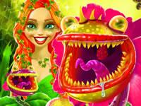 Jeu Poison Ivy et la plante carnivore