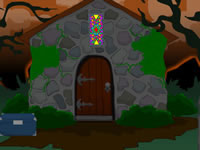 Jeu Creepy Halloween Night Escape