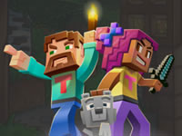 Jeu gratuit Minecraft Block Match