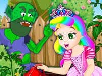 Jeu Princesse Juliette au jardin