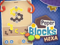 Jeu Paper Blocks Hexa