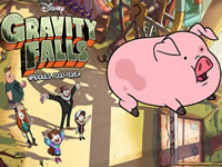 Jeu Gravity Falls Waddles Food Fever