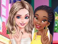 Jeu Tiana et Elsa sont amies
