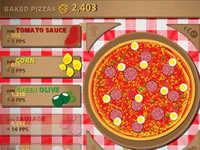 Jeu Pizza Clicker