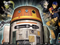Jeu gratuit Star Wars Rebels - Chopper Chase