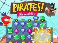 Jeu Pirates! The Match-3