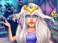 Jeu Nouvelle coiffure pour la Reine des Neiges