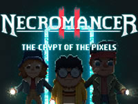 Jeu Necromancer 2 - The Crypt of the Pixels