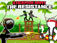 Jeu Stickman Army - The Resistance