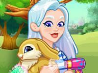 Jeu Crystal adopte un lapin