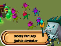 Jeu Blocky Fantasy Battle Simulator