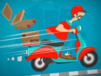 Jeu Crazy Courrier Ride