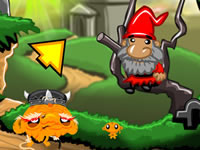 Jeu gratuit Monkey GO Happy Devils Gold