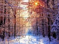 Jeu gratuit Jigsaw Puzzle Snowy Scenes