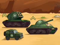 Jeu Tank Battle War Commander