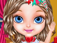 Jeu Noël avec Bébé Barbie