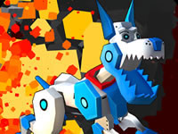 Jeu Robot Dog City Simulator