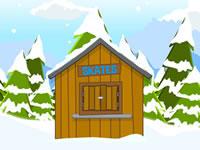 Jeu Snowy Frostman Escape