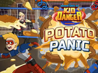 Jeu Potato Panic - Adventures of Kid Danger