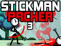 Jeu Stickman Archer 3
