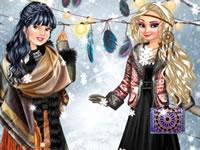 Jouer à Princesses bohu00e8mes en hiver