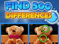 Jeu Find 500 Differences