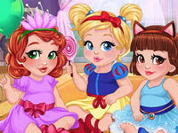 Jeu Petites Princesses Disney