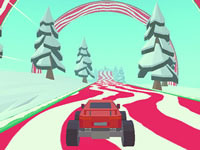 Jeu 3D Monster Truck Icy Roads