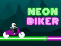 Jeu Neon Biker