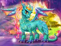 Jeu Mon dragon féérique