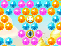 Jouer à Jewel Genie Bubble World