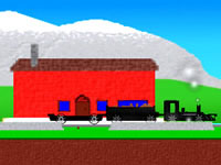 Jeu Idle Train 2