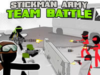 Jeu Stickman Army - Team Battle