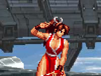 Jeu The King of Fighters Wing