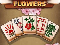Jeu Mahjong Flowers