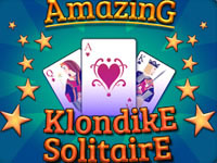 Jeu gratuit Amazing Klondike Solitaire