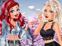 Jeu gratuit Princesses et stars BFF