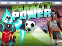 Jeu Penalty Power - Ben 10