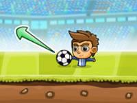 Jeu Puppet Soccer Challenge