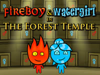 Jeu gratuit Fireboy and Watergirl Forest Temple