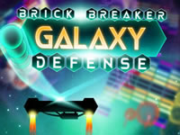 Jeu Brick Breaker Galaxy Defense