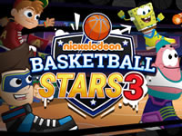 Jeu Nick Basketball Stars 3