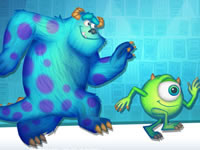 Jeu Monsters, Inc. Sneak-a-Boo