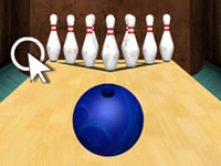 Jeu 3D Bowling Game